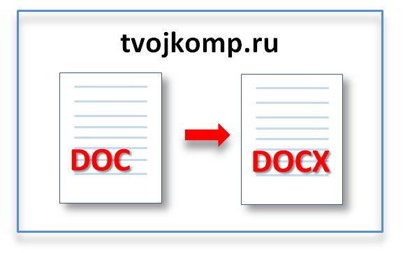 конвертер doc в docx