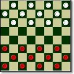Шашки онлайн флеш-игра