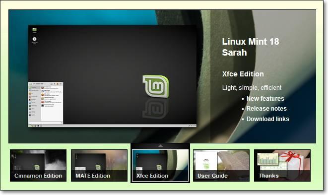 Линукс минт 18