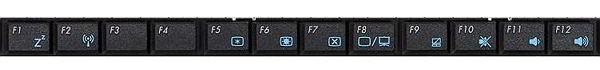 функциональные клавиши