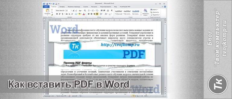 как-вставить-pdf-в-word