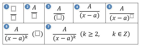 как в ворде вставить формулу с дробью